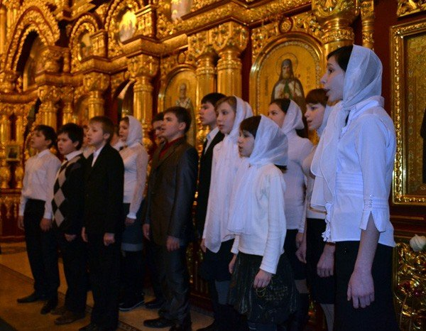 В Свято-Николаевском кафедральном соборе прошел вечер колядок, фото-2