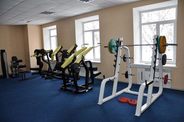 Горловский Стирол реконструирует Дворец спорта, фото-5