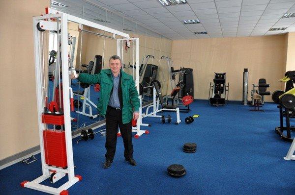 Горловский Стирол реконструирует Дворец спорта, фото-6