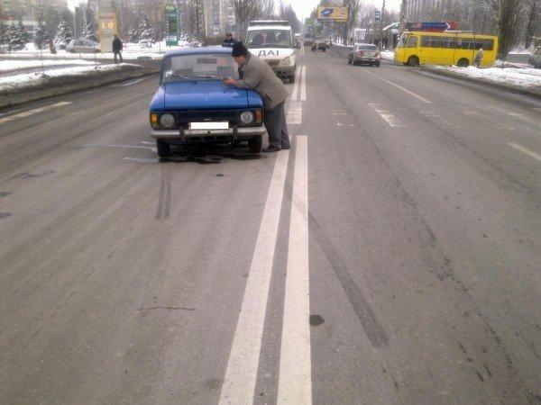 В Донецке на пешеходном переходе сбили 20-летнего парня (фото), фото-1