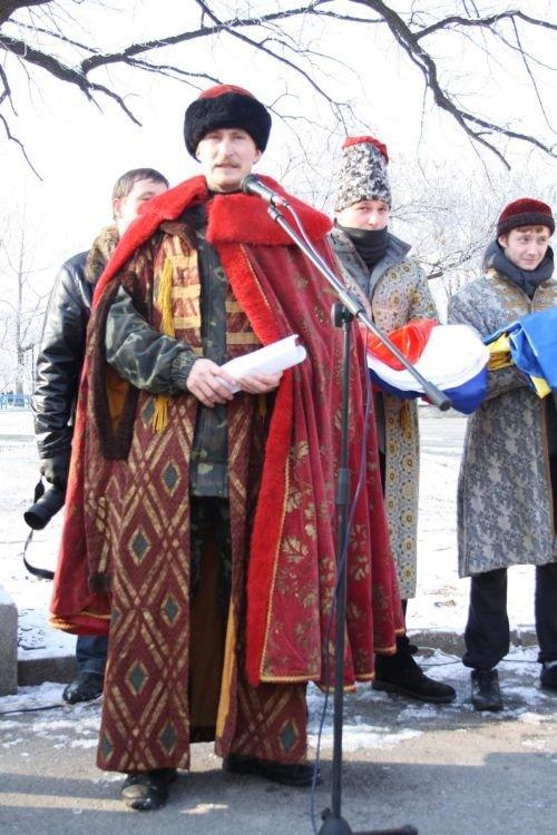 ФОТОРЕПОРТАЖ: Запорожские коммунисты призвали Украину и Россию объединится, фото-2