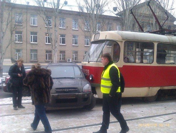 Трамваям и джипам становится все труднее уживаться на улицах Донецка (фото), фото-3