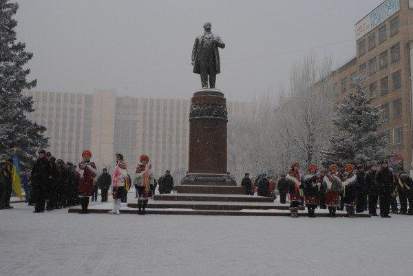 Шишацкий и Лукьянченко решили отметить День Соборности на два дня раньше срока (фото), фото-4