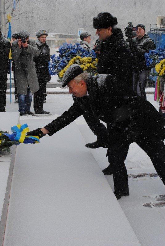 Шишацкий и Лукьянченко решили отметить День Соборности на два дня раньше срока (фото), фото-2