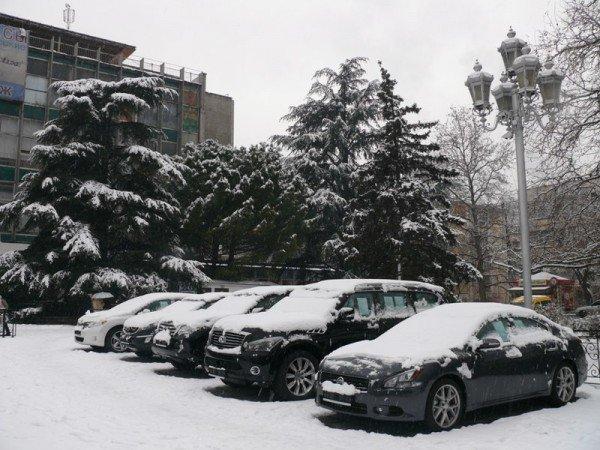 Из-за мощного снегопада все коммунальные службы Ялты работают в круглосуточном режиме (ШИКАРНЫЕ ФОТО+ВИДЕО), фото-4