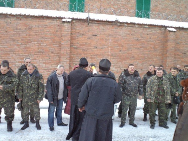Артемовск: несовершеннолетним заключенным дали возможность освятить воду, фото-3