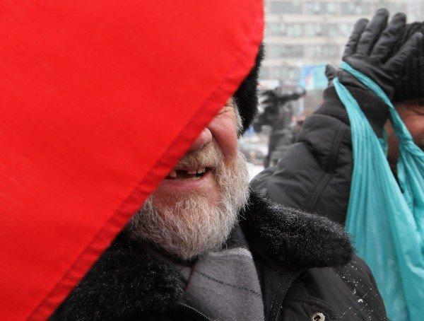 В День Соборности в Донецке подрались из-за «бандеровского» флага (фото, видео), фото-2