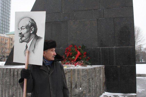 В День Соборности в Донецке подрались из-за «бандеровского» флага (фото, видео), фото-10