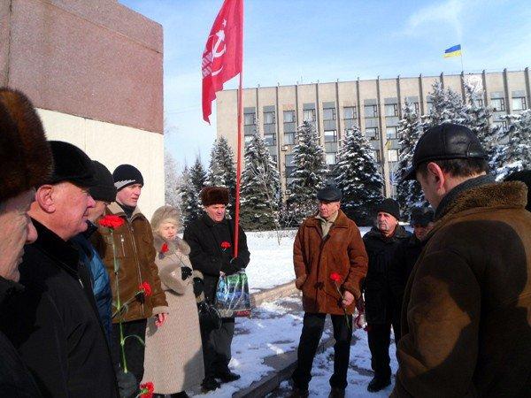Коммунисты Горловки почтили память Ленина, фото-1