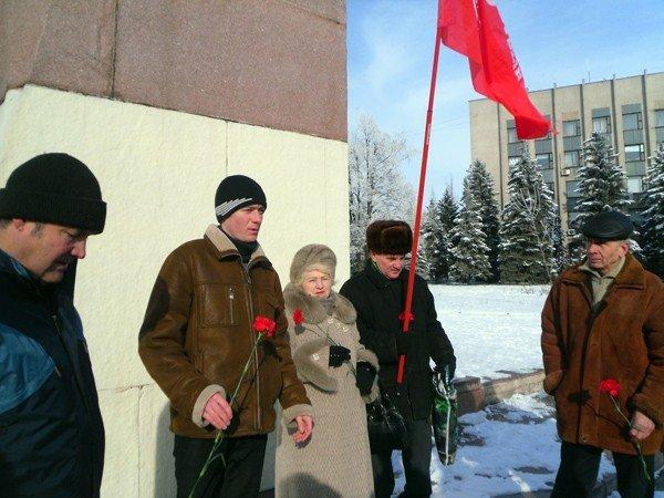 Коммунисты Горловки почтили память Ленина, фото-2