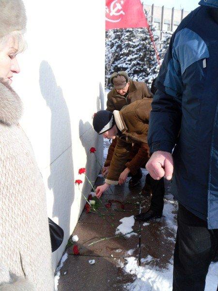 Коммунисты Горловки почтили память Ленина, фото-4