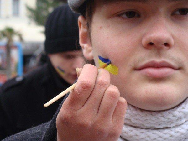 Ялте на набережной ко Дню Соборности собрали живую цепь (ФОТО), фото-6