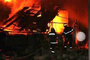 Растет число жертв пожара на донецкой табачной фабрике (фото, видео), фото-7