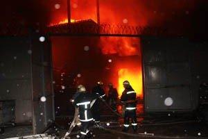 Растет число жертв пожара на донецкой табачной фабрике (фото, видео), фото-5