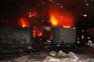 Растет число жертв пожара на донецкой табачной фабрике (фото, видео), фото-4