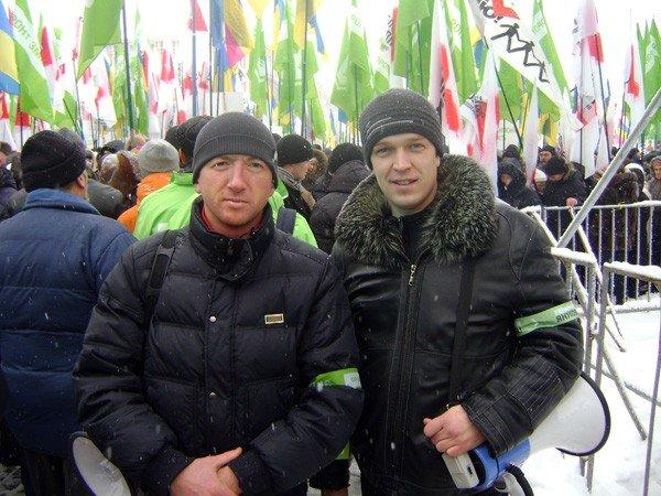 Горловчане отпраздновали День соборности на митинге в Киеве, фото-1
