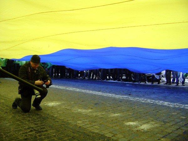 Горловчане отпраздновали День соборности на митинге в Киеве, фото-2