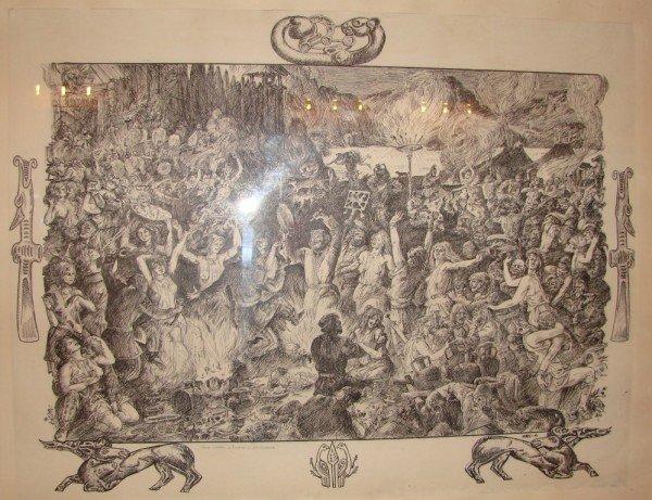 Артемовцам привезли картины о Мастере и Маргарите, фото-1