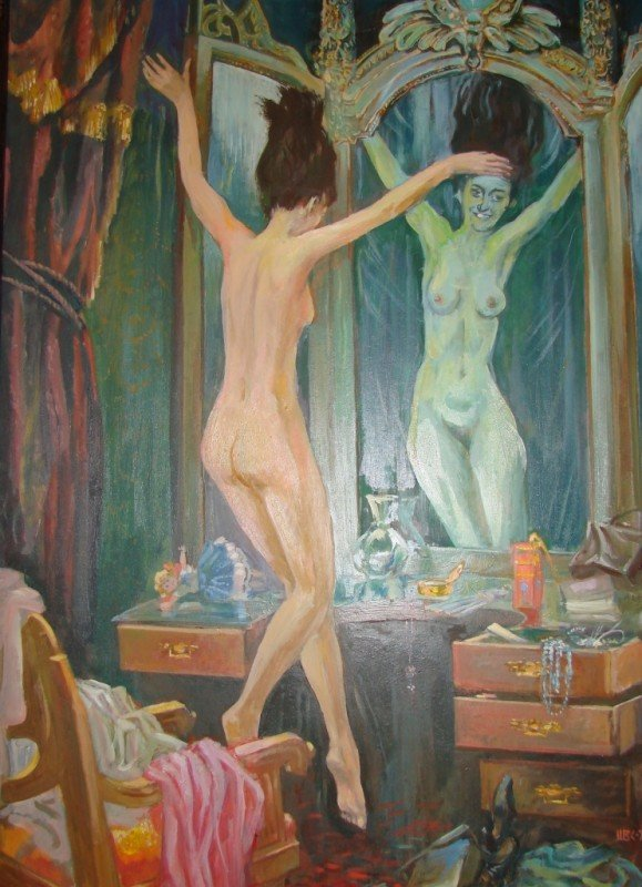 Артемовцам привезли картины о Мастере и Маргарите, фото-3
