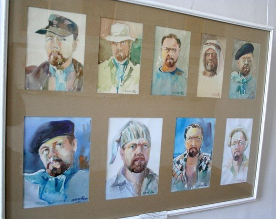 В Симферополе открылась выставка памяти Рудольфа Подуфалого (фото), фото-10