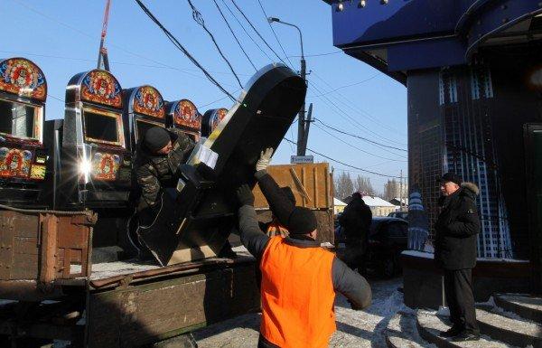 Журналисты помогли милиции «найти» зал игровых автоматов в центре Донецка (фото), фото-1