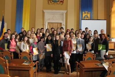 Роздали дипломи стажерам Львівської міськради, фото-2