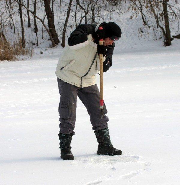 На донецкие водоемы вышли любители зимней рыбалки (фото), фото-2