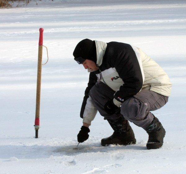 На донецкие водоемы вышли любители зимней рыбалки (фото), фото-3
