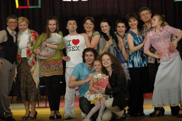 Студенты-театралы из Луганска сыграют в жизнь на подмостках Запорожского театра (ФОТО), фото-1