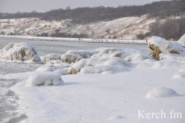 В Крыму на море замерзают волны (ФОТО), фото-7