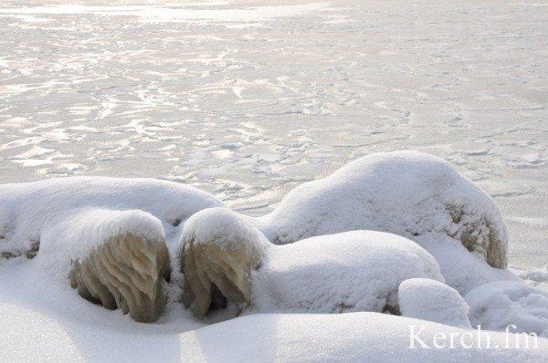 В Крыму на море замерзают волны (ФОТО), фото-5