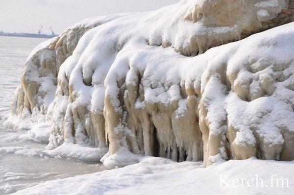 В Крыму на море замерзают волны (ФОТО), фото-3