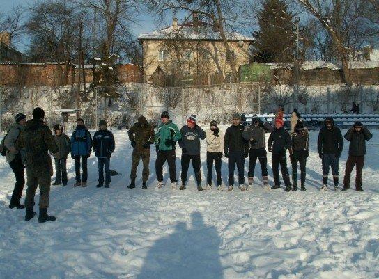 У Луцьку на честь героїв Крут побились і вивалялись у снігу (ФОТО), фото-2