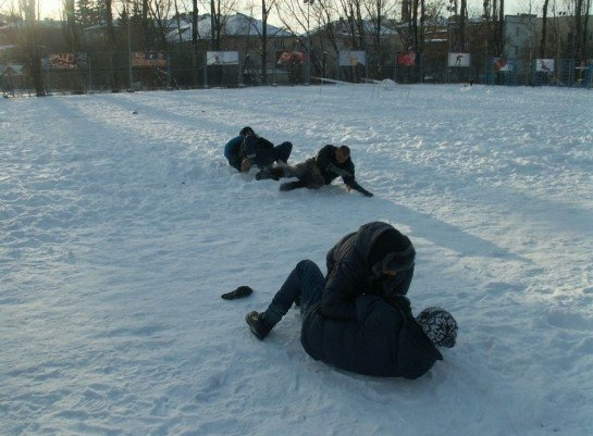 У Луцьку на честь героїв Крут побились і вивалялись у снігу (ФОТО), фото-5