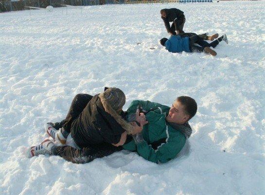 У Луцьку на честь героїв Крут побились і вивалялись у снігу (ФОТО), фото-6