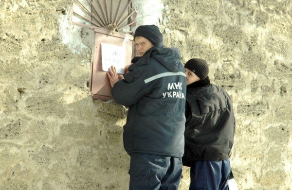 В центре Симферополя устанавливают пункт обогрева (фото), фото-7