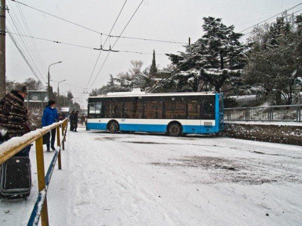 Ялту завалило снегом. В поселках ЮБК ни пройти, ни проехать (ФОТО), фото-7