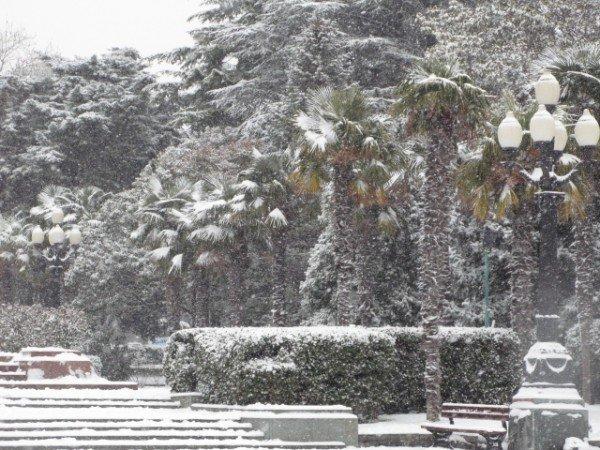 Ялту опять засыпало снегом (ФОТО), фото-4