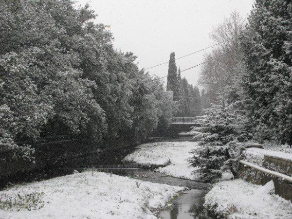 Ялту опять засыпало снегом (ФОТО), фото-5