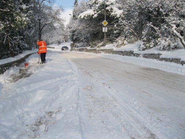В Ялте – снежный покров в 33 сантиметра (ФОТО), фото-1
