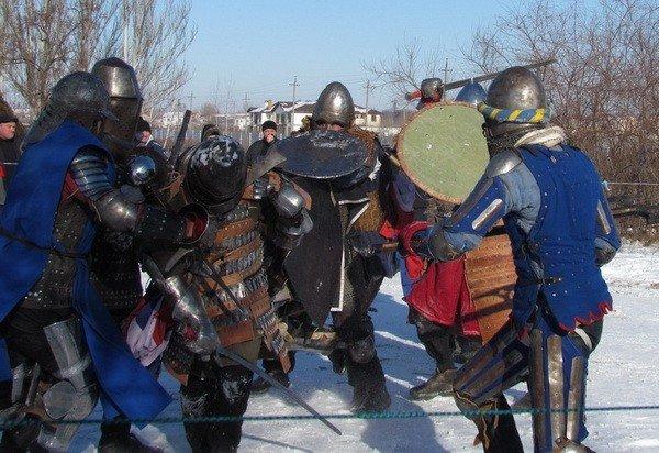 В Днепродзержинске возрождают рыцарские традиции (ФОТО), фото-1