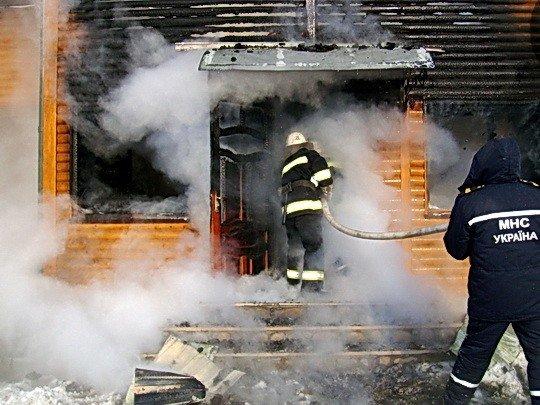 На Тернопільщині згорів будинок, фото-2
