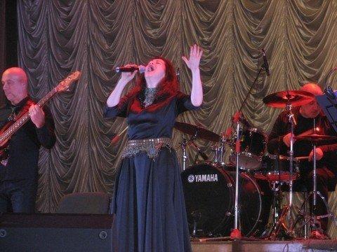 На півтори години запізнилася на концерт до Тернополя Тамара Гвердцителі, фото-1