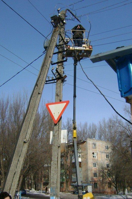 В темных переулках Днепродзержинска появились фонари (ФОТО), фото-3