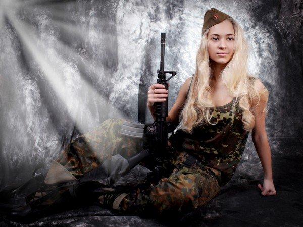 Сегодня стартует голосование за участниц конкурса MILITARY GIRL, фото-1