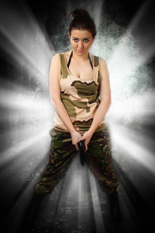 Сегодня стартует голосование за участниц конкурса MILITARY GIRL, фото-4