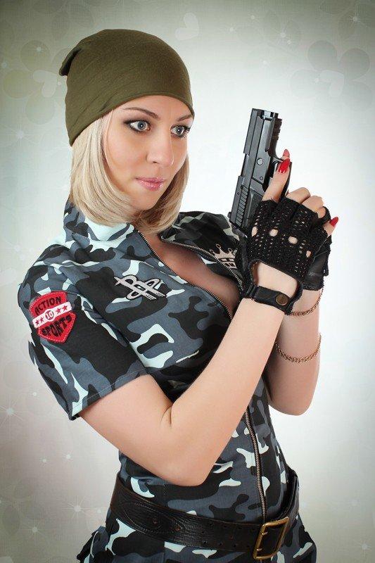 Сегодня стартует голосование за участниц конкурса MILITARY GIRL, фото-6