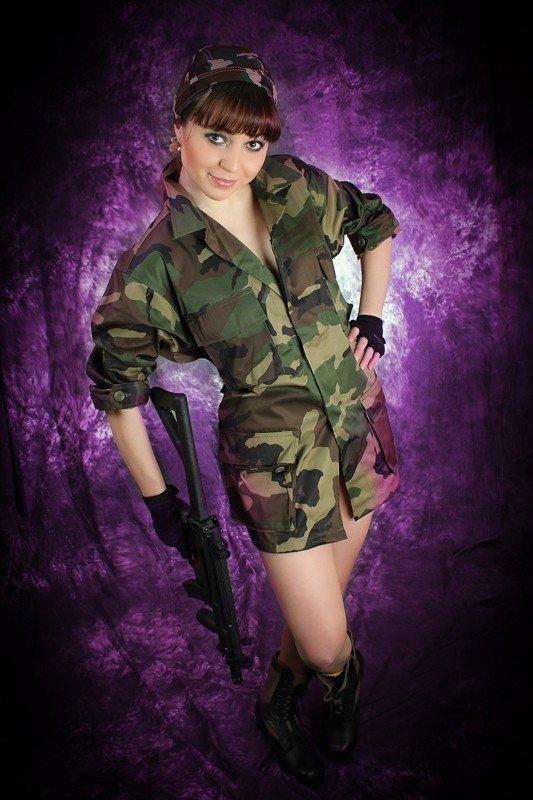 Сегодня стартует голосование за участниц конкурса MILITARY GIRL, фото-7