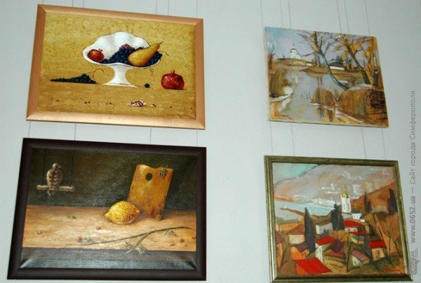 В Симферополе выставили работы претендентов в Нацсоюз художников Украины (фото), фото-1