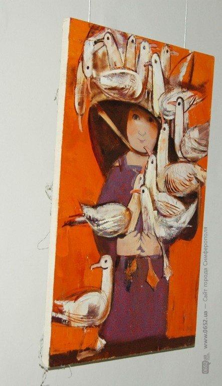 В Симферополе выставили работы претендентов в Нацсоюз художников Украины (фото), фото-2